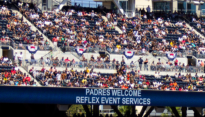 Padres Welcomes Reflex