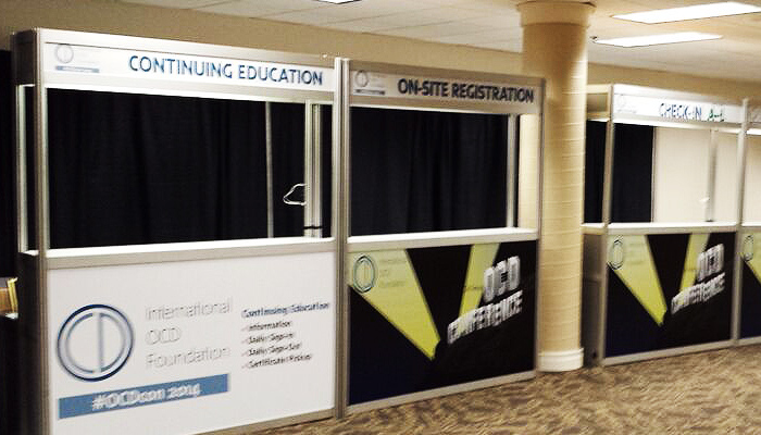 Continuing Education Booth